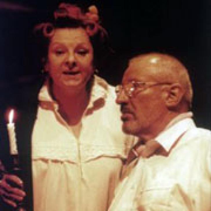 """Foto - Teatrul """"Bulandra"""", spectacolul """"Unchiul Vanea"""" - Mariana Mihuţ, Victor Rebengiuc"""