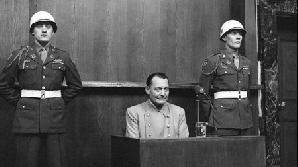 Hermann Goering în timpul procesului de la Nurenberg / FOTO: news.harvard.edu