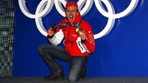 Simon Ammann a câştigat al patrulea titlu olimpic din carieră / FOTO: vancouver2010.com