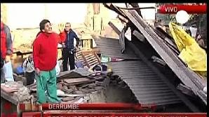 Cutremurul din Chile a fost urmat de peste 70 de replici, dintre care unele au avut magnitudinea peste 6/ FOTO: RTV