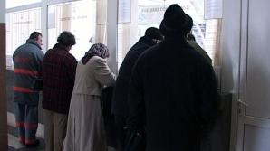 Corpul de control al ministrului Muncii face verificări la Casa Naţională de Pensii . / Foto Realitatea TV Bistriţa