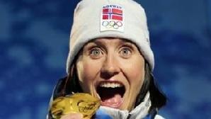 Norvegianca Marit Bjorgen a câştigat două titluri olimpice la Vancouver / Foto: Eurosport