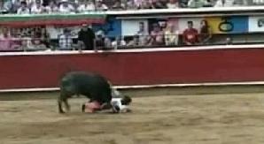 Michelito, rănit de un taur la o coridă în Cali / FOTO: Captură YouTube