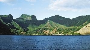 Insula Robinson Crusoe face parte din arhipelagul chilian Juan Fernandez / FOTO:abluteau.wordpress.com