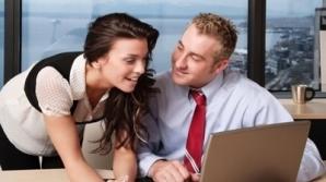 Aproximativ 40% dintre angajaţi au avut cel puţin o relaţie de-a lungul carierei lor cu unul dintre colegii de serviciu