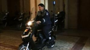 Poliţiştii trebuie să-şi ia  permisul de conducere categoria A pentru a putea folosi noile  motoscuterele