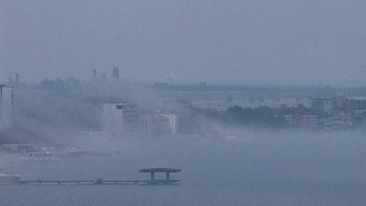 Un nor de ceaţă a acoperit timp de mai multe ore staţiunea Mamaia