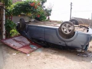 Accident spectaculos în Timiş