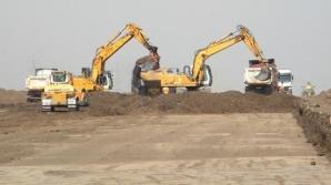 Autostrada Arad-Timişoara face victime încă din postura de şantier