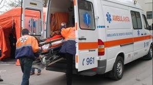 Muncitor rănit grav după ce a căzut de pe o schelă, la Galaţi
