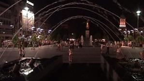 Sute de craioveni şi-au petrecut noaptea în stradă din cauza căldurii