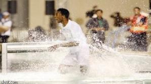 Ieşit din apă, Maaz a mers să-şi facă dreptate / Foto: aleqt.com