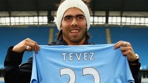 Locul 10: Carlos Tevez a adus bani buni în visteria lui Manchester City / Foto: jp-insane.blogspot.com
