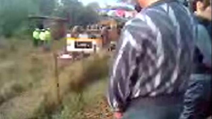 Patru oameni au decedat după ce un autobuz s-a răsturnat în judeţul Tulcea