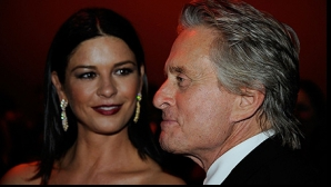 Catherine Zeta Jones şi Michael Douglas