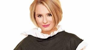 Andreea Esca şi-ar fi dorit să fie chelneriţă în studenţie / Foto: adgent.ro