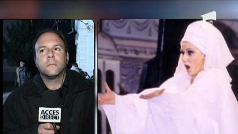 Dupa inmormintare, Alexandru Briban a fost prezent si in platoul unei televiziuni pentru un interviu