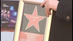 Florin Piersic a primit o stea pe Walk of Fame din Bucureşti