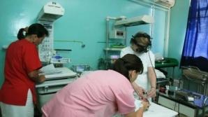 Un bebeluş de 8 luni din Vaslui a ajuns la spital cu răni grave