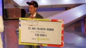 Adrian Tutu a castigat 120.000 Euro
