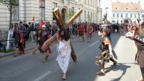 Drumul Crucii, reconstituit la Cluj