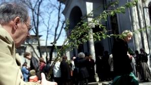 Floriile amintesc de intrarea lui Hristos în Ierusalim