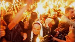 LUMINA SFÂNTĂ este adusă în România de la mormântul lui Iisus