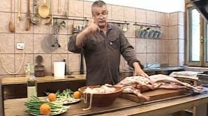 Mircea Dinescu a gătit nenumărate delicatese de Paştii