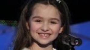 Rebeca - o voce puternică într-un copil atât de mic