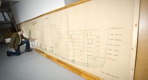 Harta Titanicului are aproximativ 10 metri