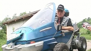Maşina eco, inventată de un român