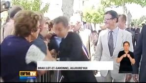 Sarkozy a fost agresat