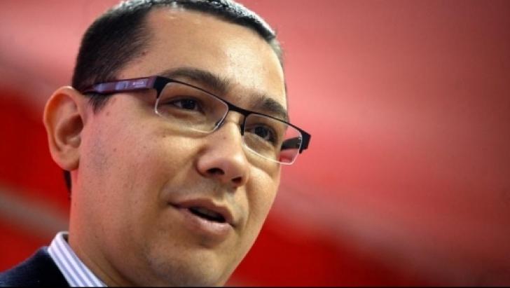 Preşedintele PSD, Victor Ponta