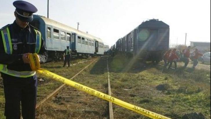 Accident feroviar în judeţul Arad