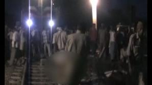 40 de oameni au murit, iar 25 au fost răniţi după ce un tren a lovit un autobuz