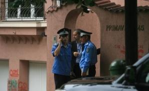 Cristina Verona era foarte agitata in momentul in care a depus plingerea la Politie