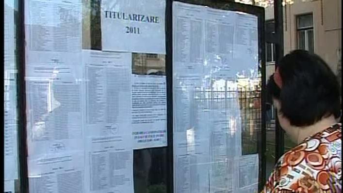 Doar 23.500 de candidaţi la titularizare vor primi astăzi note