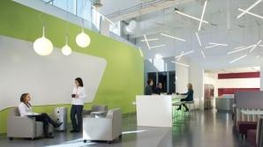 Ideile şi productivitatea angajaţilor depind şi de designul interior. VEZI GALERIA FOTO