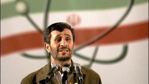 Preşedintele iranian, Mahmoud Ahmadinejad