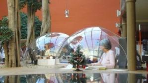 În loc de birouri, capsule spaţiale