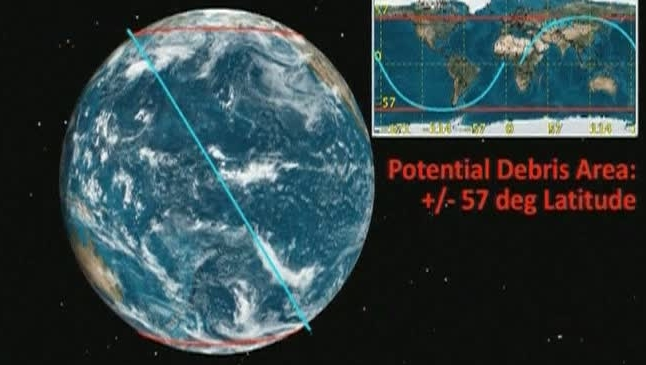 NASA avertizează: Bucăţi din satelitul UARS ar putea lovi Terra în weekend