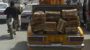 Trafic în Kabul
