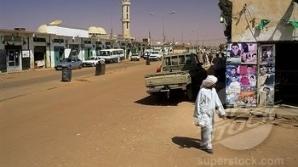 Stradă în Libia