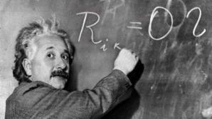 Albert Einstein a vorbit abia la vârsta de trei ani