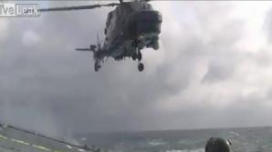 Piloţii au reuşit cu greu aterizarea