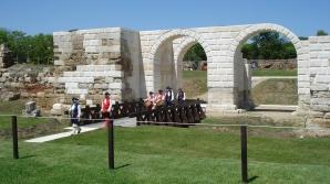Restaurarea portii de la Alba Iulia