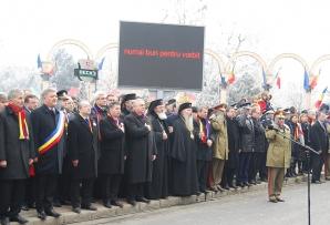 Emil Boc la defilarea trupelor MAI de la Alba Iulia