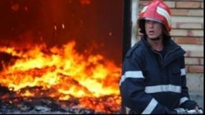 Trei copii au murit într-un incendiu produs la Sibiu