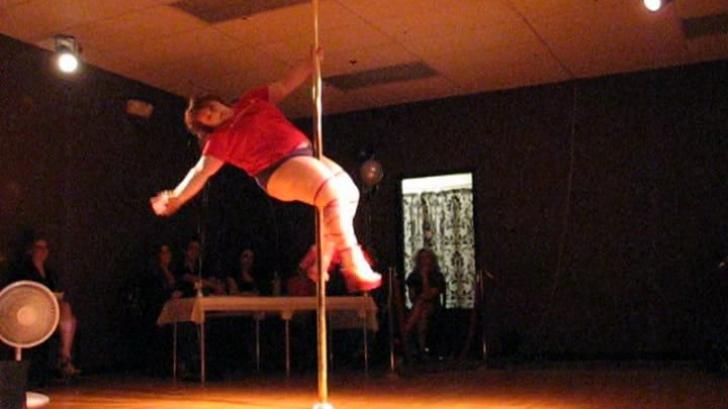 Lulu, dansatoare de 114 kg