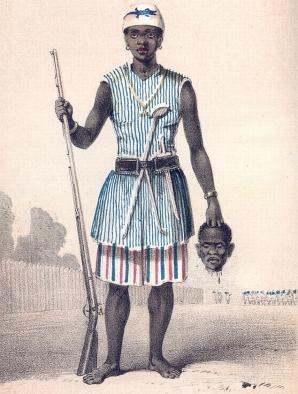 Amazoana din Dahomey